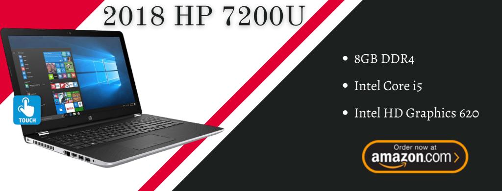 2018 HP 7200U info