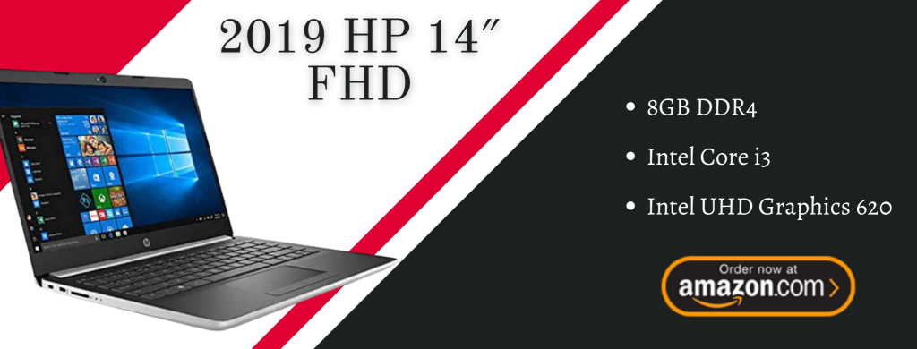 "2019 HP 14"" FHD IPS Premium Laptop info"