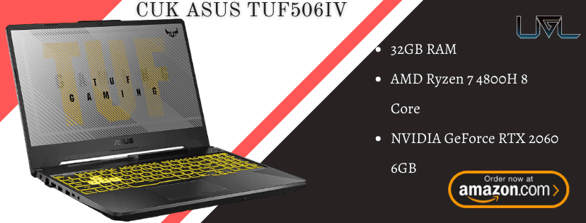 CUK ASUS TUF506IV Gaming Laptop