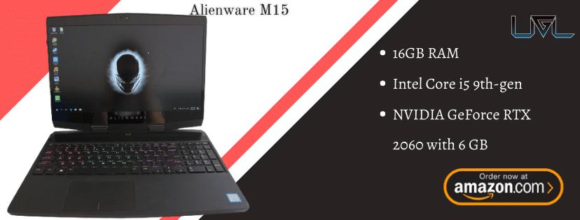 "Alienware M15 15.6"" Gaming Notebook"